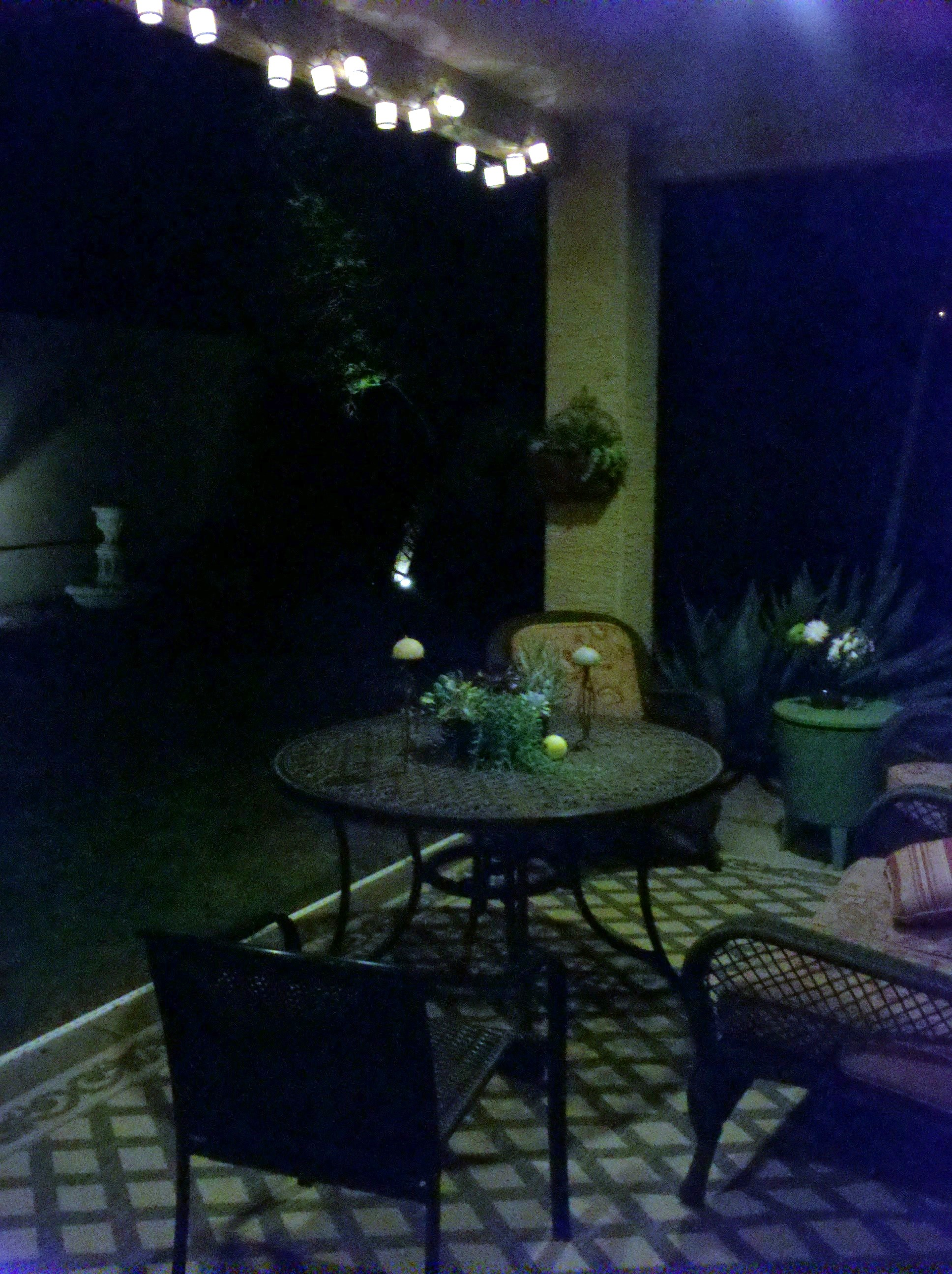 Here Is A Glimpse Of How Cool The Patio ...