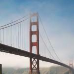 kids by Golden Gate Bridge