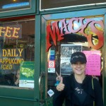 I had to get my java fix at Macys, a Flagstaff favorite for organic coffee and healthy breakfast and lunch fare.  Macys is located on Beaver Street across the street from another favorite, Beaver Street Brewery.