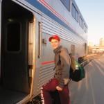Boarding Train