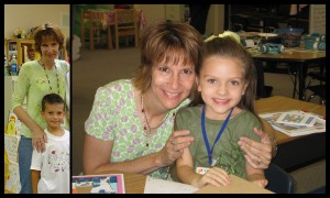 Years ago when our boy was in Mrs. Willis Kindergarten class and now years ago when our girl was with her...she is one amazing teacher!