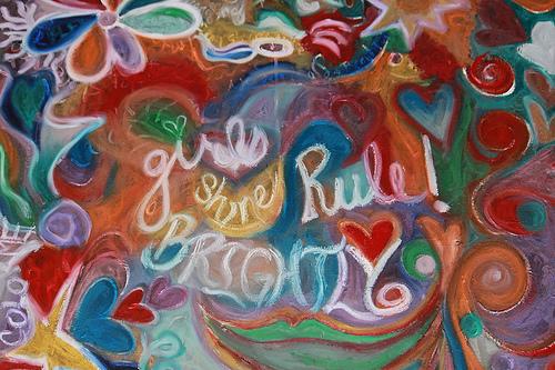 Girls Rule art