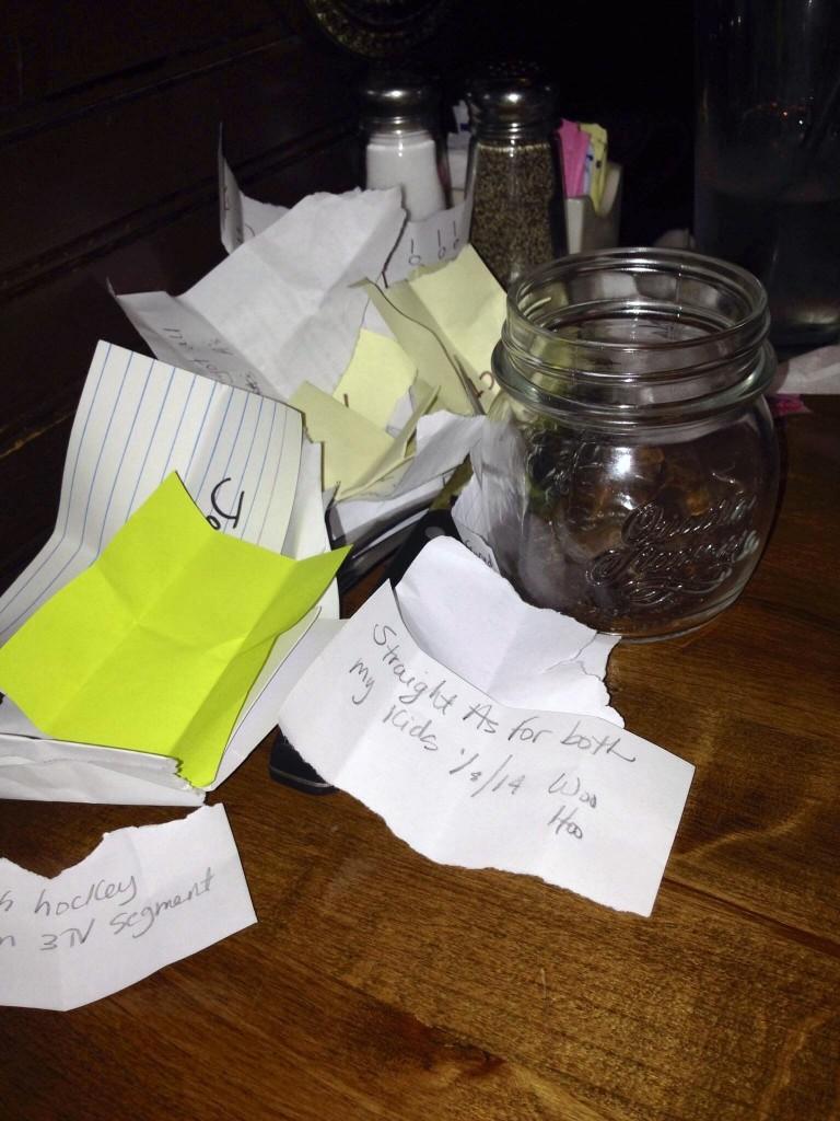 memory jar note