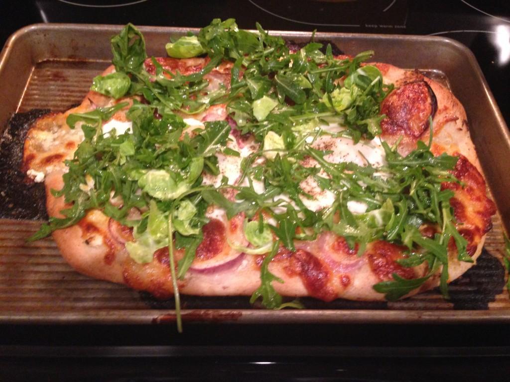 blue apron piza