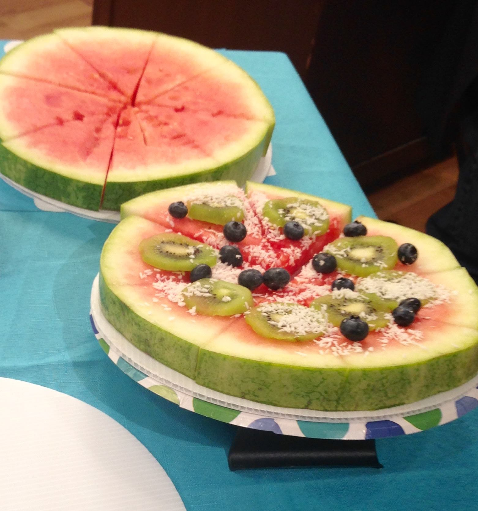 Healthy Watermelon Tart Recipe — Dishmaps