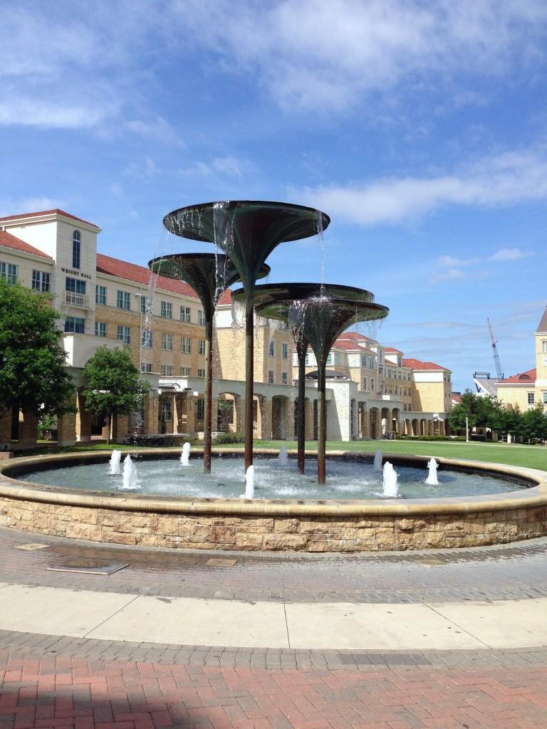 TCU grounds