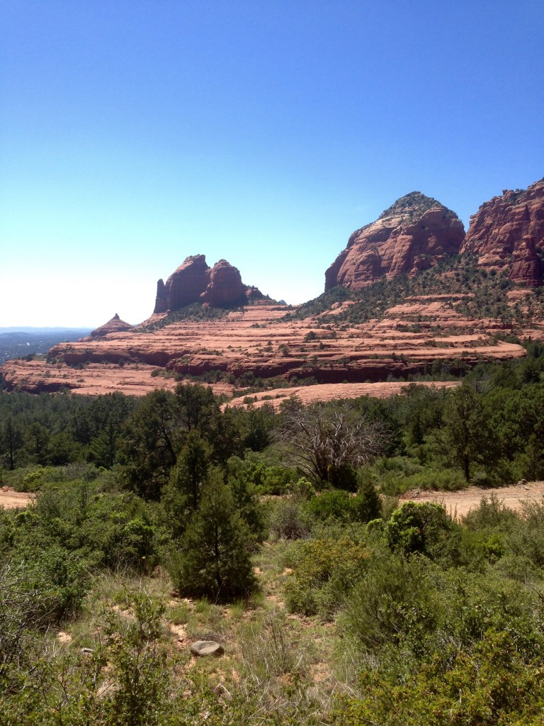 red rock view