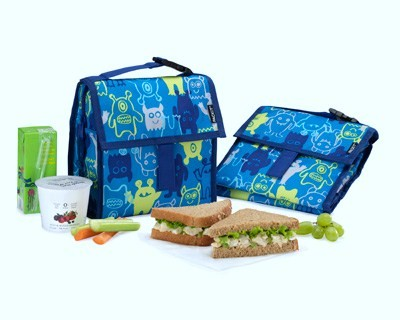 lunch bag with food