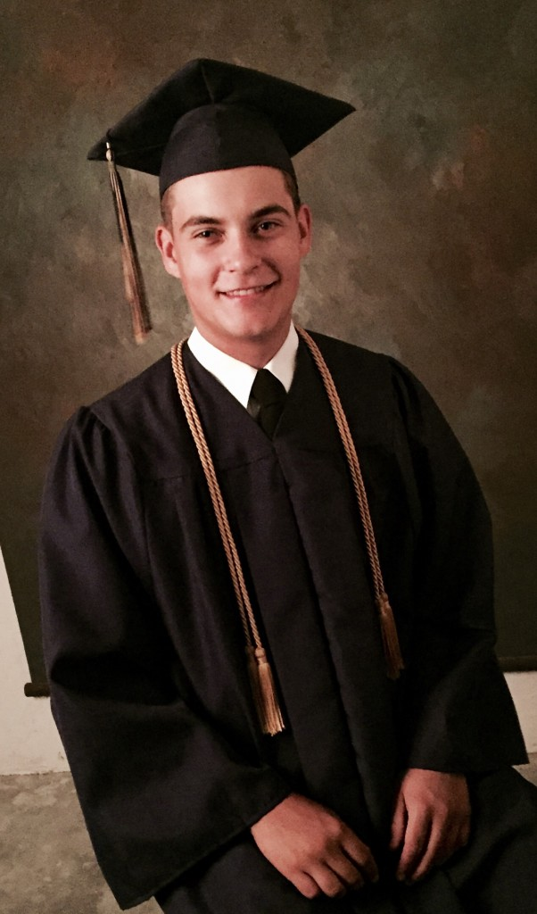 Cap and gown pictures for yearbook. This day is coming very soon now. Kind of surreal!