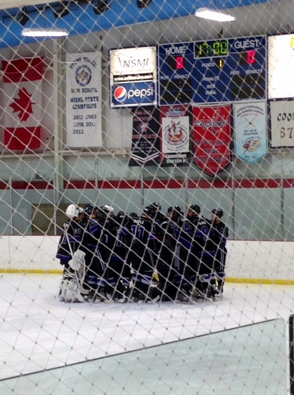 pregame huddle