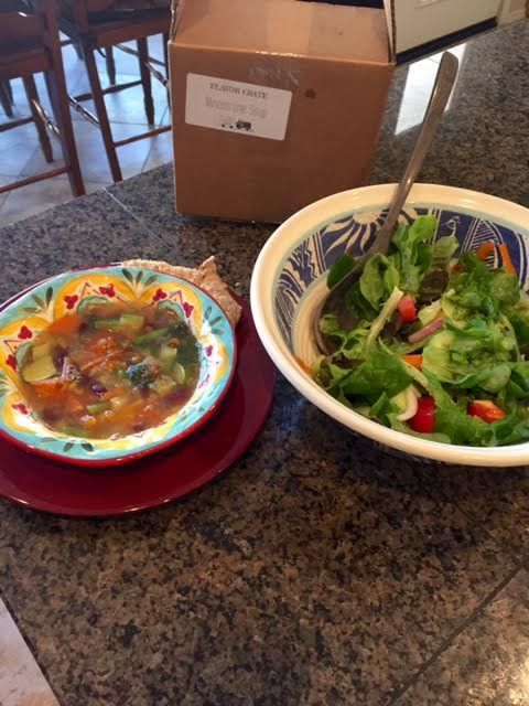 soup and salad kit