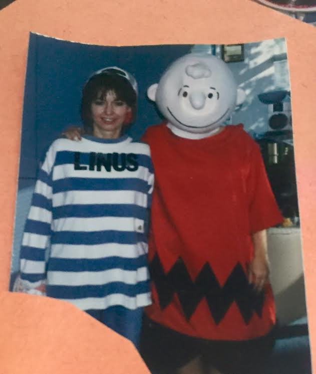 Sweet Judy was Linus and yep, you guessed it, yours truly was Charlie Brown!
