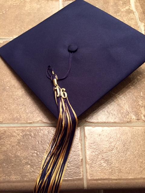 Jack's grad cap