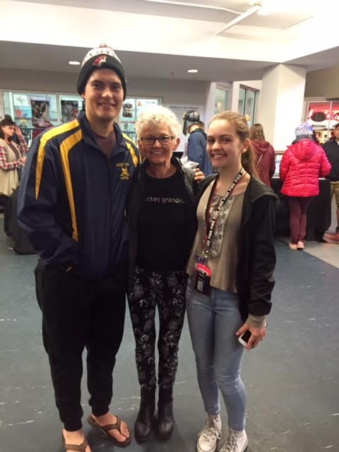 Nationals 2016 with Grandma Maryanne