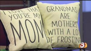 mom day pillows