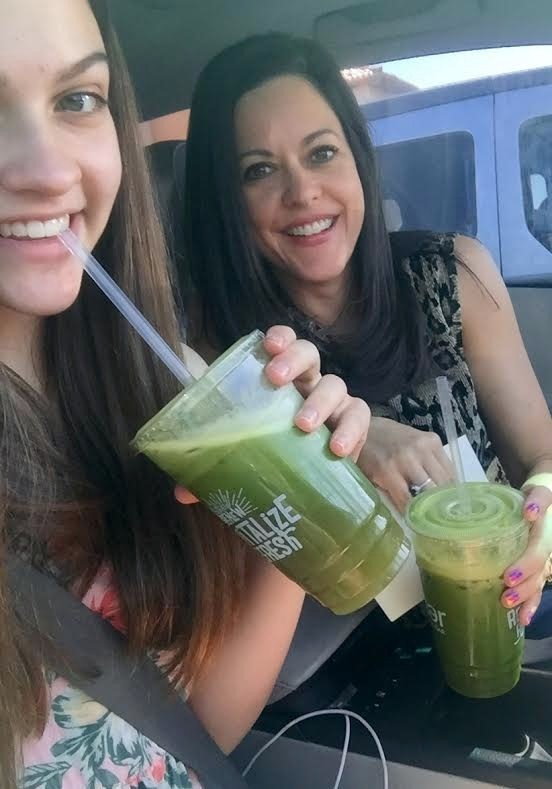 On massage days, we are especially motivated to eat clean and these juices made with kale, ginger, apple and more are perfect. Great bonding time!