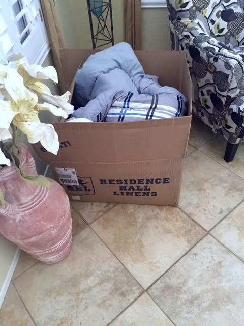 linens box
