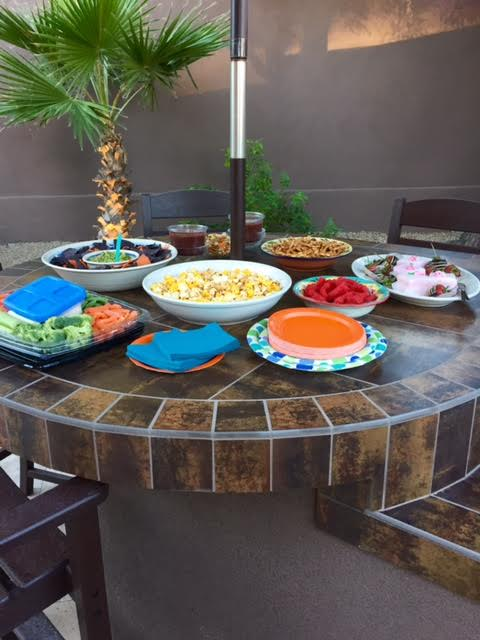 Homecoming food ready for teens