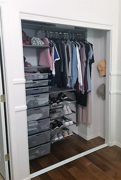 Movable Cool Closet Organization System
