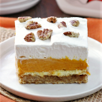Thanksgiving Favorite Pumpkin Dessert-My Family's Pumpkin Supreme