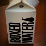 Going Green:  Why I Drink My Water Out Of A Box
