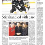 Written By My Son:  Touching LA Times Article About NHL Hockey Prospect's Two Moms Helping Son Realize His Dreams
