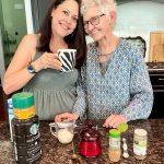 My Mom's Healthy Cinnamon Nutmeg Latte Recipe – No Coffee Machine Required