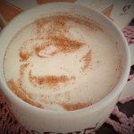 Video Recipe:  Mom's No Coffee Maker Needed Healthier Cinnamon Nutmeg Latte